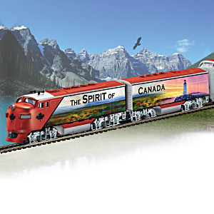 HO-Scale Spirit Of Canada Express Electric Train Collection