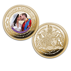 Prince William And Catherine Middleton Proof Coin Collection