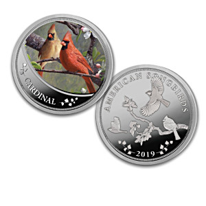 Hautman Brothers Songbird Artwork Proof Coin Collection