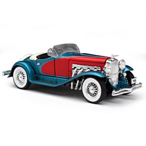 1:32-Scale Classic Era Luxury Diecast Car Collection