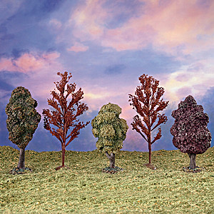"""""""Shades Of Nature"""" Landscape Package Village Accessory"""