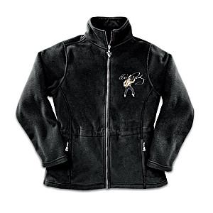 """Elvis: Dressed To Thrill"" Women's Fleece Jacket"