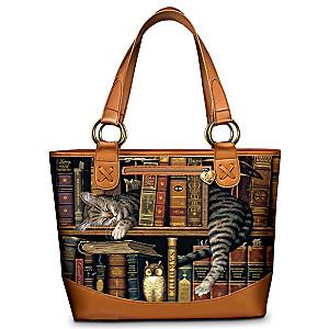 "Charles Wysocki ""Frederick The Literate"" Tote Bag"
