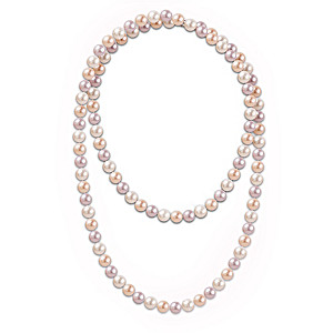 100 Genuine Cultured Pearl Necklace For 100 Wishes