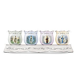Our Lady of Lourdes Candleholder