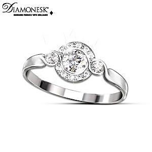 Love Comes Full Circle Diamonesk Women's Ring