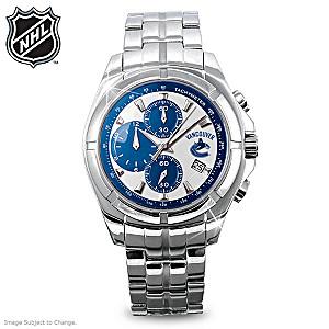 Vancouver Canucks® Men's Chronograph Watch