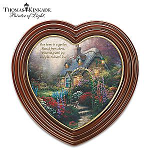 "Thomas Kinkade ""The Blossoms Of Home"" Framed Canvas Print"