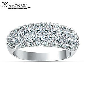 "The ""Decadence"" 3-Carat Diamonesk Fashion Ring"
