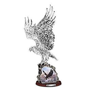 "Larry Martin ""Soaring Majesty"" Crystal Sculpture"