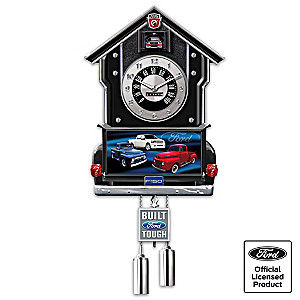 Ford F-Series Wall Clock Lights Up With Revving Sound