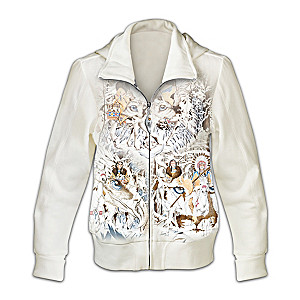 Women's Hoodie Adorned With The Wildlife Art Of Diana Casey