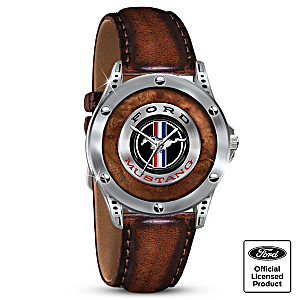 Ford Mustang Commemorative Men's Watch With Engraving