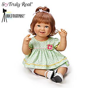 "Bonnie Chyle ""Lily"" Poseable Lifelike Baby Girl Doll"