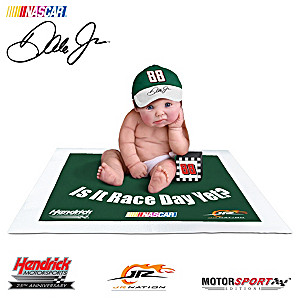 Officially Licensed Dale Jr. Commemorative Baby Doll