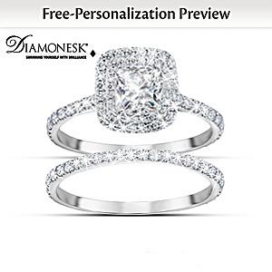 Create Your Personalized Diamonesk Bridal Ring Set
