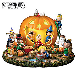 """Illuminated PEANUTS """"Great Pumpkin"""" With Spooky Sounds"""