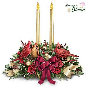 """""""The Spirit Of The Season"""" Illuminated Musical Centerpiece"""
