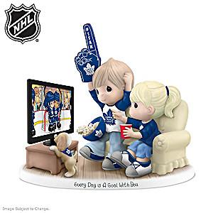 Precious Moments Maple Leafs® Fan Porcelain Figurine