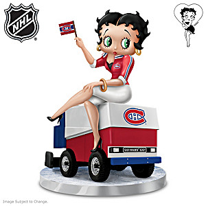 """Betty Boop """"Ice Baby"""" Montreal Canadiens® Figurine"""