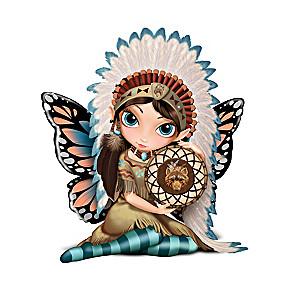 """Jasmine Becket-Griffith """"Midnight Call"""" Fairy Figurine"""