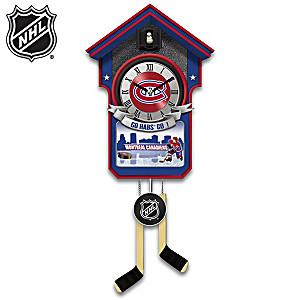 Montreal Canadiens® Wall Clock