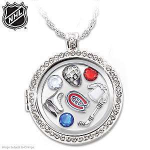 Montreal Canadiens® Locket With Floating Charms