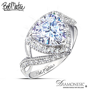 """Bob Mackie """"One In A Trillion"""" Simulated Diamond Ring"""