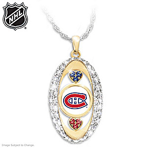 """""""For The Love Of The Game"""" Montreal Canadiens® Pendant"""