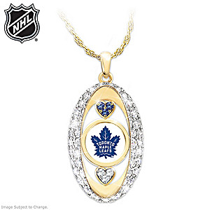 """""""For The Love Of The Game"""" Toronto Maple Leafs® Pendant"""