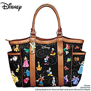 "Disney ""Carry The Magic"" Designer-Style Tote Bag"