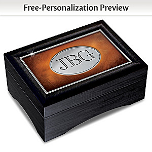 """""""Son, Forge Your Own Path"""" Personalized Keepsake Box"""