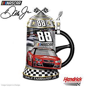 Dale Earnhardt Jr. NASCAR Porcelain Commemorative Stein