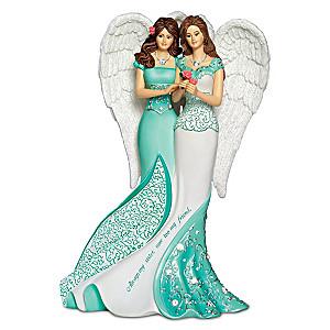 """Always My Sister, Now Too My Friend"" Angel Figurine"