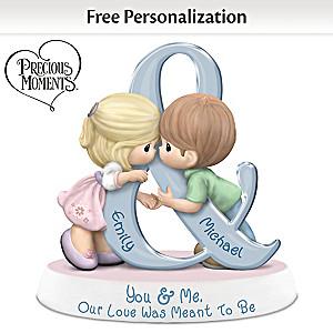 Precious Moments Personalized Couples Figurine