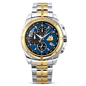 """""""The Bluenose"""" Stainless-Steel Men's Chronograph Watch"""