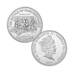 """""""The Battle Of Passchendaele"""" Centennial Crown Coin"""