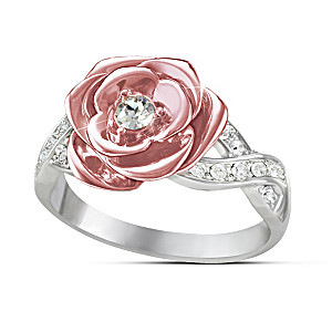 """""""England's Rose"""" Ring Inspired By Princess Diana"""