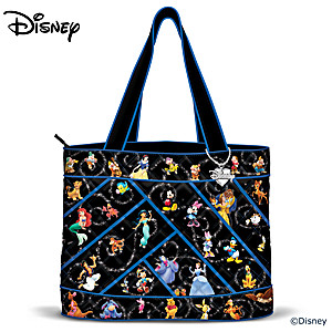 """Disney """"Relive The Magic"""" Women's Tote Bag With Disney Charm"""