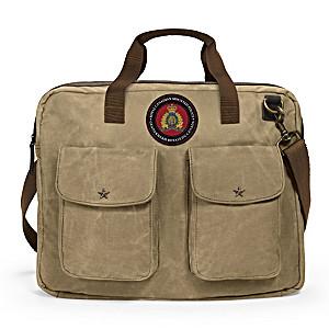 RCMP Men's Canvas Messenger Tote Bag