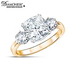 Meghan Markle Engagement-Inspired 8-Carat Diamonesk Ring