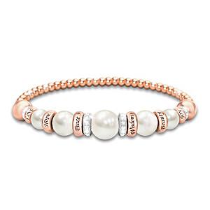 """Pearls Of Serenity"" Women's Healing Bracelet"