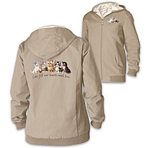 """Jurgen Scholz """"Kitten Love"""" Reversible Women's Jacket"""