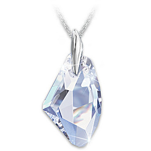 """""""Facets Of A Woman"""" Swarovski Crystal Pendant Necklace"""