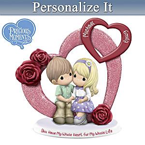 Precious Moments Personalized Figurine Celebrates Your Love