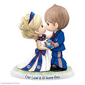 Precious Moments Blue Jays Porcelain Wedding Figurine