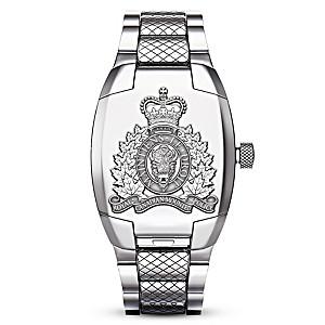 RCMP Quartz Movement Men's Watch With Unique Flip Cover