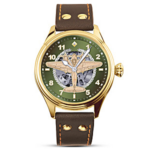 """Royal Air Force """"Mosquito"""" Bomber Men's Mechanical Watch"""