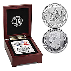 First-Ever 2019 Early Release Enhanced Proof Silver Maple