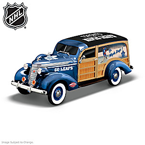 1:18-Scale Toronto Maple Leafs® Woody Wagon Sculpture